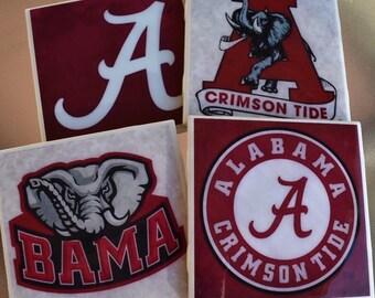 University of Alabama Coasters | Crimson Tide | Roll Tide | University of Alabama