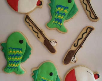 Get a hook on these cookies! They're the catch of the day!