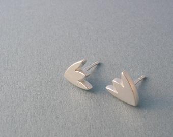Tulip ear studs 925 silver