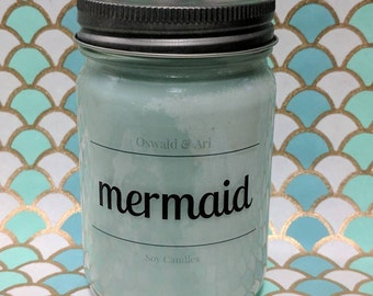 Mermaid | soy candle