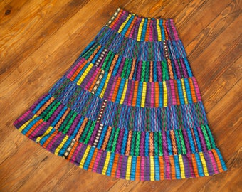 Crazy Colorful 80s 90s Dancing Skirt - PASSPORT Of Pier 1 Imports