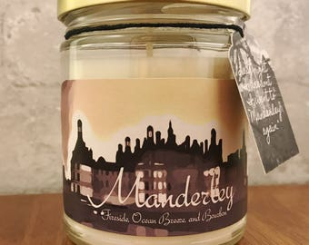 The Manderley Candle: Inspired by Daphne Du Maurier's Rebecca // Mothers Day // Gifts for Her // Decor // Self Care
