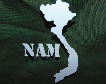 Vietnam Deployment Decal