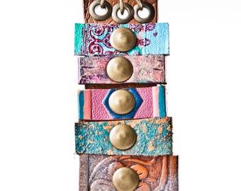 Gypsy Jewelry Large Pendant, Long Necklace, Unusual Pendant, Unique Necklace, Original Boho Pendant Necklace