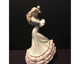 SALE - The Valentino Collection Flamenco Dancer Porcelain Figurine