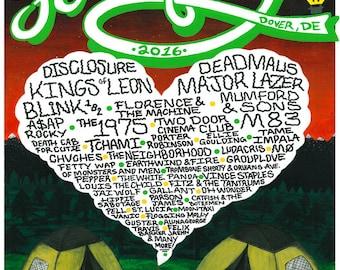 2016 Firefly Music Festival Poster