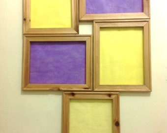 Yellow and Purple Frames