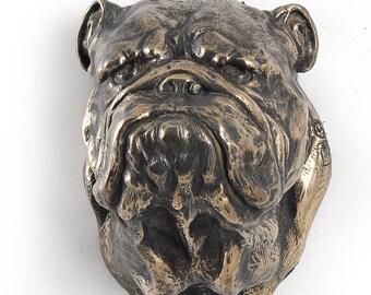 English Bulldog, dog hanging statue, limited edition, ArtDog