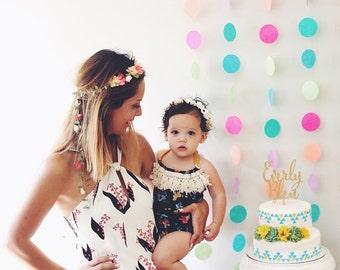 Delilah Boho Romper || boho baby romper || Floral Romper || baby clothing || fringe romper