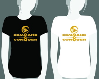INSTANT DOWNLOAD only with payment in PayPal! Command and Conquer T-Shirt Transfer, Command and Conquer Iron On