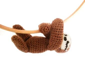 Sloth Amigurumi Pattern Crochet PDF
