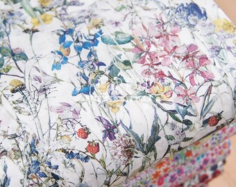 Liberty of London (Cotton Tana Lawn Fabric) - Wild Flowers - 50cm