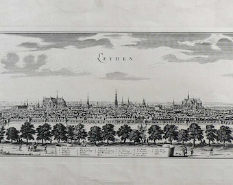 Leyden/ Netherland- Cm. 130 x 54 -Inches 51,2 x 21,3 - Large Format