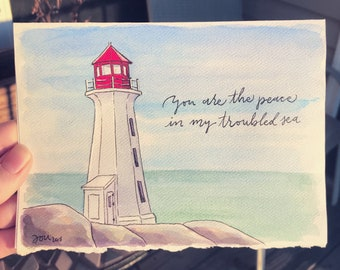 You Are the Peace in My Troubled Sea