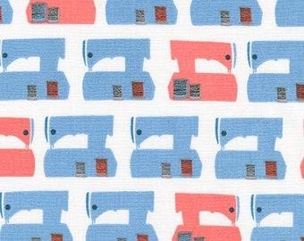 Sew Dressed Up - Robert Kaufman -AZF-16604-9 NAVY - Sewing Novelty Fabric - Sewing Machine Fabric