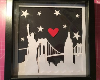 New York, New York! Papercut