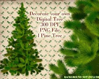 Christmas Tree, Clipart Pine Tree, Christmas Clipart, Christmas Tree Clipart