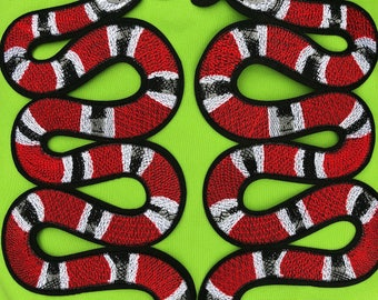 Big Snake combo embroider Iron on it.