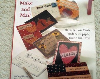 Post Cards to Make and Mail, Softcover Book by Design Originals No. 5272