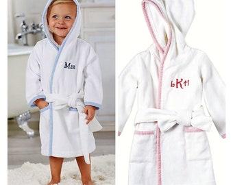 Mud Pie, Monogramable Toddler Boys Robes, Monogramable Toddler Girls Robes