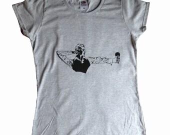 David Bowie Thin White Duke t chemise femme