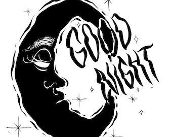 Good Night Out There print