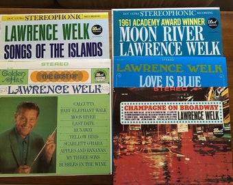 Set of Five Lawrence Welk Albums