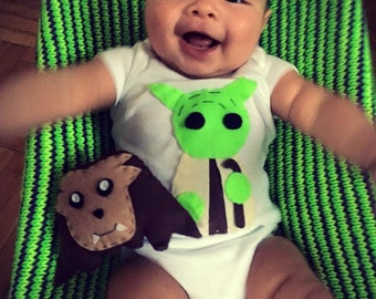 Use the Force You Will Yoda Baby Onesie