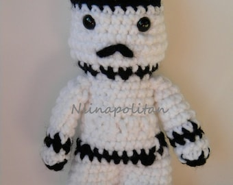 Star Wars Inspired Amigurumi Doll - Stormtrooper - MADE TO ORDER