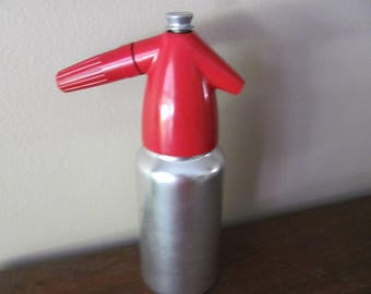 Vintage Soda King Red and Silver