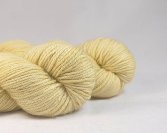 Old Yeller - Wheat Hand Dyed Superwash Merino DK Yarn