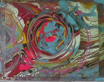 3-D abstract painting #60