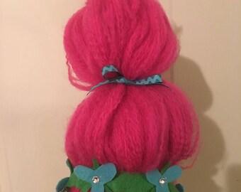 Princess Poppy handmade Troll wig