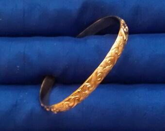 Gold Filled Cuff Bracelet