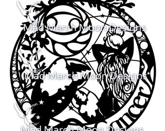 Zodiac BUNDLE 1 Papercut commercial TEMPLATES .PDF download