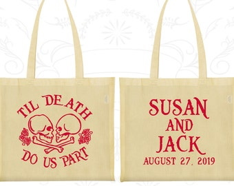 Custom Tote Bags, Tote Bags, Wedding Tote Bags, Personalized Tote Bags, Wedding Welcome Bags, Wedding Bags, Wedding Favor Bags (213)