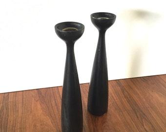 Danish Moden Candlesticks