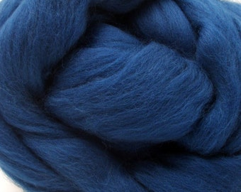 4 oz. Merino Wool Top - New Deal Teal