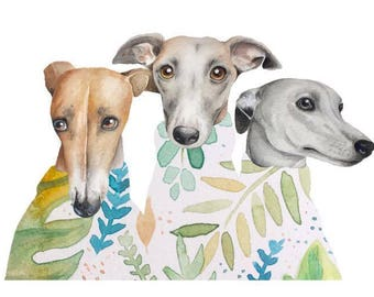 Greenery Greyhounds