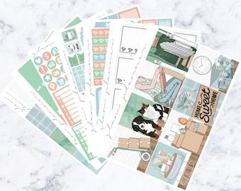 Home Luxe Sticker Kit (Glam Planner Stickers for Erin Condren Life Planner)