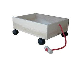 Wooden Wagon, Toy Wagon, Kids Wagon
