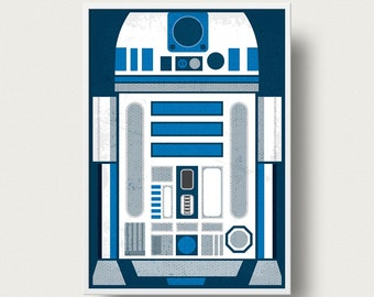 Star wars Movie Poster R2D2 posterPrint Movie Star Wars robot movie poster Star Wars movie star wars The Empire Strikes Back movie poster