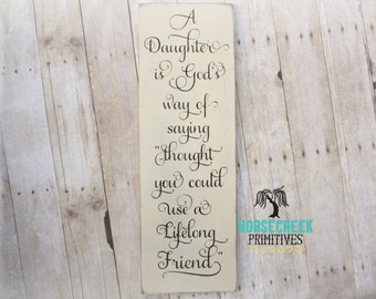 Meaningful Gift, Daughter Gift from Mom or Dad, Daughter Birthday Gift Idea, Girls Room Decor