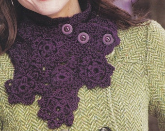 BUTTONS and BLOOM SCARF