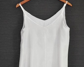 The Pure Silk Camisole - Made to Order - Ethical Fashion - Silk tank - Slow Fashion - Made in Japan - minimalist - Ethical - Summer blouse