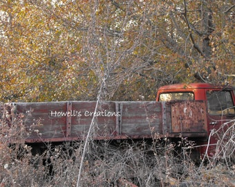 Abandoned Farm Truck Photograph