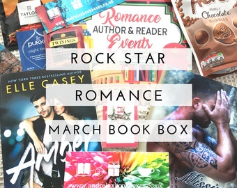 And Relax Book Boxes, March 2018, Rock Star Romance
