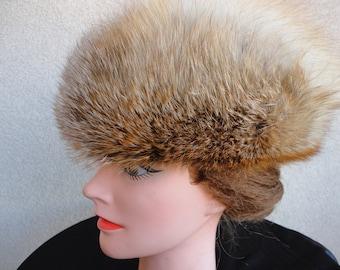 Vintage Fox Fur Hat