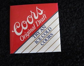 "Coors Pin 2"" 1988 CL9-28"