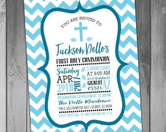 First Holy Communion Invitation Holy Communion Invitations Communion Invites Printable Communion Invitations Religious Invitation